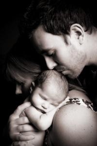 bebe e pais